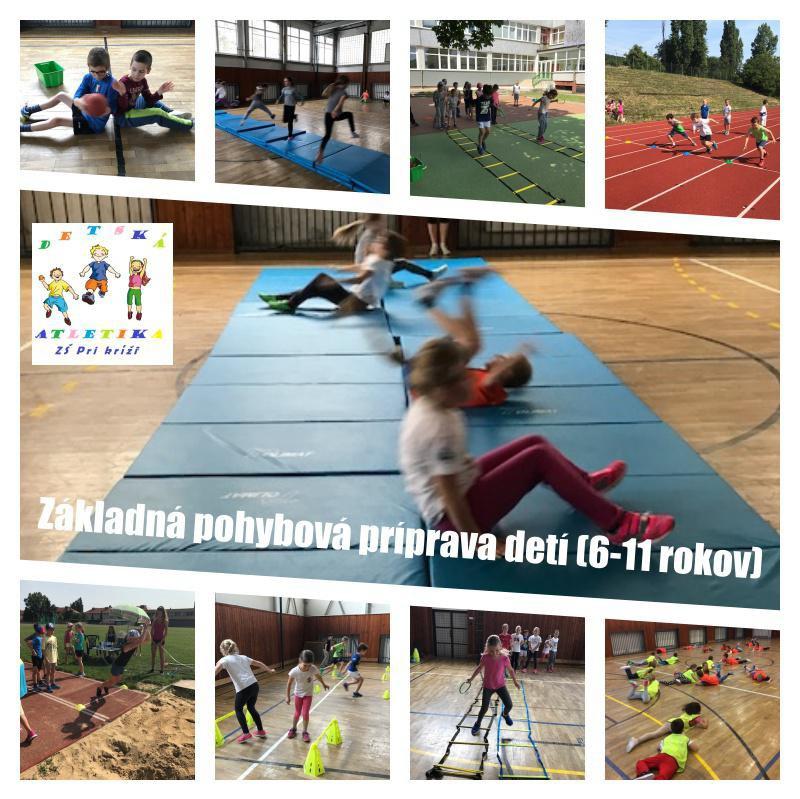 Základná pohybová príprava detí vo veku 6-12 rokov